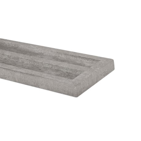 Concrete Gravel Boards for slotted posts