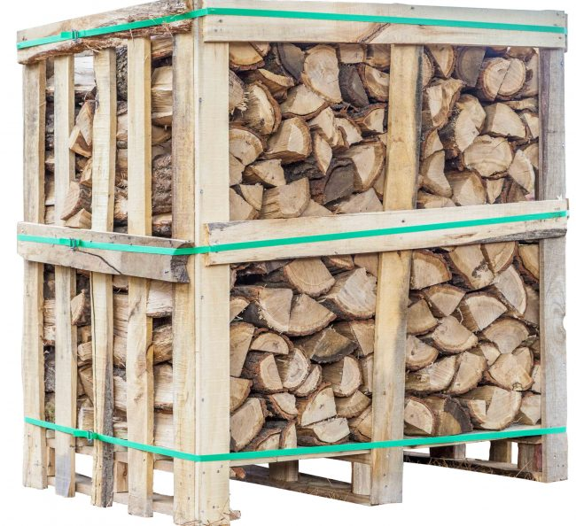 Cubic Metre Crates Of Firewood